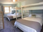 Queen Beds with Twin Bunk