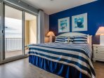 Twin Palms 2104-Master Bedroom with View of Gulf