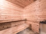 Sauna will thaw even the most adventurous of outdoors people