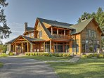 This mountain manor boasts 5 bedrooms and 6 bathrooms just minutes from downtown Lake Placid!