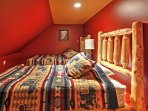 Rocky Peaks loft is adjacent to the movie theater and sleeps up to 3 guests!