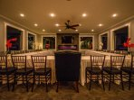 Banquet room by night!