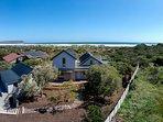 Willow Beach House - bird's eye view
