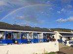 Beachside drinks and dining: Blue Bar, Porthtowan Beach