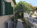 Olive Garden Apartment walkway