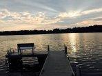 Amazing Lake Views, Dock Seating and Swim Ladder