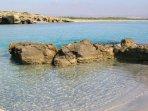 Spiaggia di Calamosche dell'Oasi di Vendicari