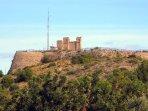 Restos históricos del castillo de Oliva
