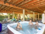Enjoy the Hot Tub after an active day Hiking and Swimming