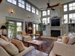 Beautifully Appointed Living Room