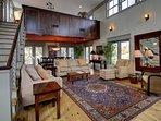 Open Living/Dining Room Floor Plan