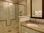 Guest Bathroom with Luxurious Shower