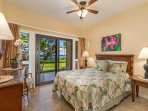 Rare Master bedroom on the oceanfront!