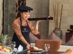 The staff at the villa are able to help prepare the meal with extra charge