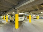 Our valets will park your car for you in the heated underground lot.