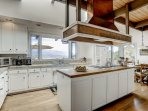 You'll love cooking in this kitchen, with it's amazing views of the city and mountains.