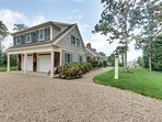 """Dubbed """"Homeport"""" by its owners, this home was custom built in 2007 on a large level lot with nice views of Cape Cod..."""