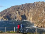 The Magnificent Slive  League Cliffs a must Visit when in Donegal.