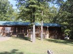 Natural Beauty Pure Log Cabin Huge Deck French Doors in every room .... Back to Nature