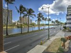 This property is ideally located under a mile from the sugar-white shores of Waikiki Beach.