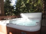Lower Level Deck - Outdoor Hot Tub