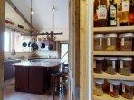 Stocked pantry
