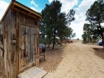 Rustic Outhouse