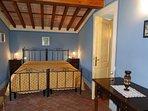 Double room in monastery - leading to balcony