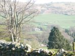 View over Cartmel Valley to the north