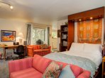 Murphy Bed available for extra guests
