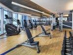 Wyndham Clearwater Beach Resort fitness area
