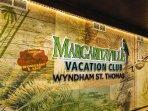 Wyndham Margaritaville St. Thomas property logo
