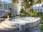 Margaritaville Vacation Club Wyndham Rio Mar hot tub