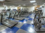 Margaritaville Vacation Club Wyndham Rio Mar fitness area