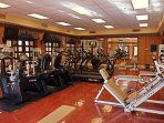 Legacy Golf Resort fitness area