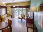 Elysian Beach Resort living room