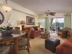 Paniolo Greens Resort living room