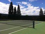 Paniolo Greens Resort tennis courts