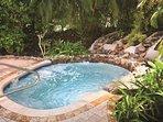 Elysian Beach Resort hot tub