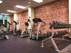 Wyndham La Belle Maison fitness area