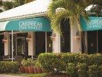 Elysian Beach Resort restaurant