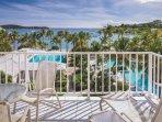 Elysian Beach Resort balcony