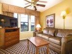 Wyndham Vacation Resort Pagosa living room