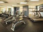 Wyndham Vacation Resort Ocean Boulevard fitness area