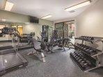 Wyndham Park City fitness area