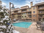 Wyndham Park City outdoor pool
