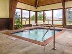 Wyndham Vacation Resort Pagosa indoor hot tub