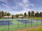 Wyndham Vacation Resort Pagosa tennis courts