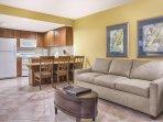 Wyndham Vacation Resort Santa Barbara living room
