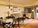 Wyndham Vacation Resorts Sea Gardens living room